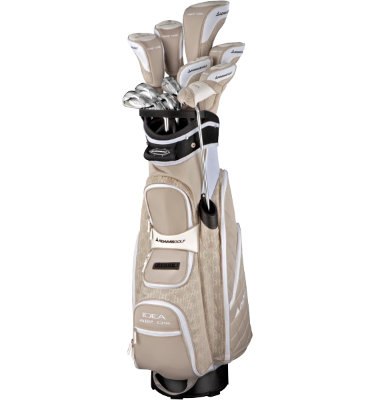 ADAMS GOLF Women's Idea a12 OS Integrated Complete Set - Sandstone