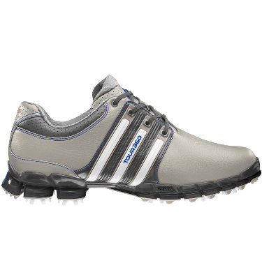 adidas Men's TOUR360 ATV M1 Golf Shoe - Aluminum/White/Satellite