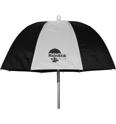 RainStik Golf Bag Umbrella - Black