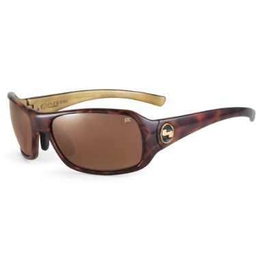 Sundog Captiva Mela-Lens Sunglasses - Demi Frame/Brown Lens