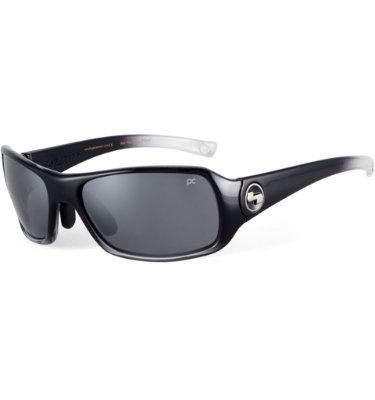 Sundog Women's Captiva Mela-Lens Sunglasses - Gradient Black Frame/Smoke Lens