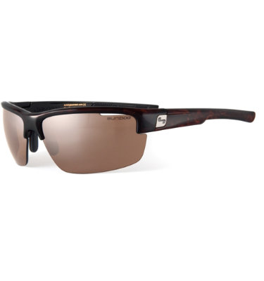 Sundog Draw Sunglasses - Dye Demi Frame/Brown Lens