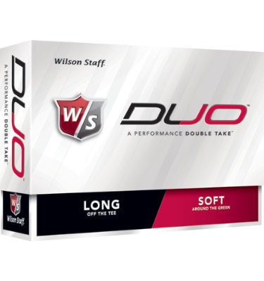 Wilson Staff DUO Golf Balls - 12 pack