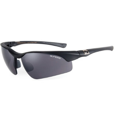 Sundog Flight Sunglasses - Black Frame/Smoke Lens