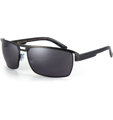 Sundog Fluid Sunglasses - Black Frame/Smoke Lens