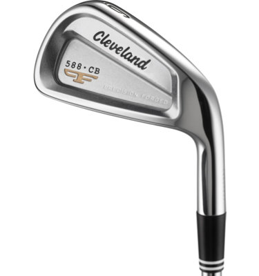Cleveland Men's 588 CB Irons - (Steel) 3-PW