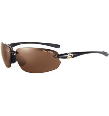 Sundog Laser Mela-Lens Sunglasses - Brown Demi Frame/Brown Lens