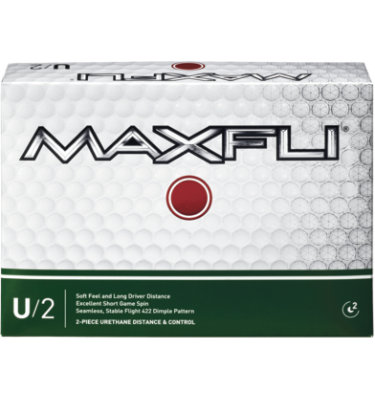 Maxfli U/2 Golf Balls - 12 pack