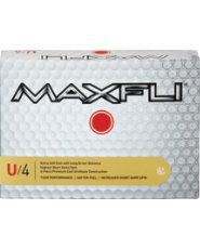 Maxfli U/4 Golf Balls - 12 pack