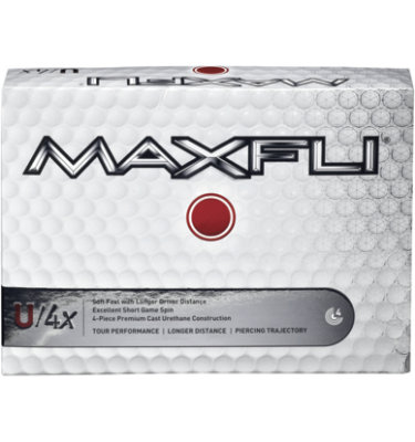 Maxfli U/4x Golf Balls - 12 pack