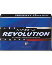 Maxfli Revolution Distance Golf Balls - 12 pack