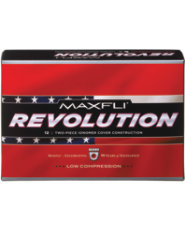 Maxfli Revolution Low Compression Golf Balls - 12 pack