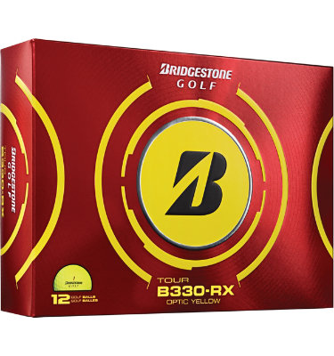 Bridgestone Tour B330-RX Yellow Golf Balls - 12 pack (Personalized)