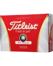 Titleist DT SoLo Golf Balls - 12 pack (Personalized)
