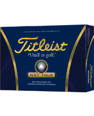 Titleist NXT Tour Golf Balls - 12 pack (Personalized)