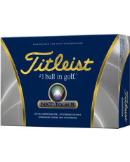 Titleist NXT Tour S Golf Balls - 12 pack (Personalized)