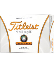 Titleist Velocity Golf Balls - 12 pack (Personalized)