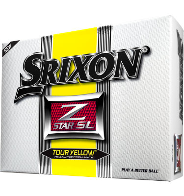 Srixon Z-STAR SL Yellow Golf Balls - 12 pack (Personalized)