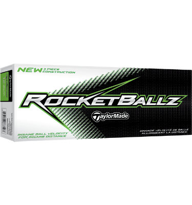 TaylorMade RocketBallz Golf Balls - 12 pack