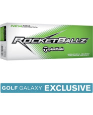 TaylorMade RocketBallz Slime Edition Golf Balls - 12 pack