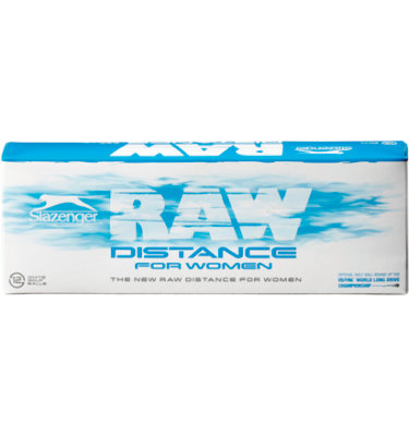 Slazenger Women's Raw Distance Golf Balls - 12 pack