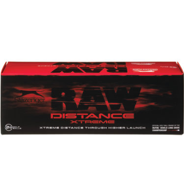 Slazenger Raw Distance Xtreme Golf Balls - 24 pack