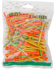 "Golf Galaxy 2¾"" Multicolor Golf Tees - 100 Count"