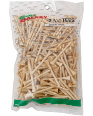 "Golf Galaxy 2¾"" Natural Golf Tees - 225 Count"