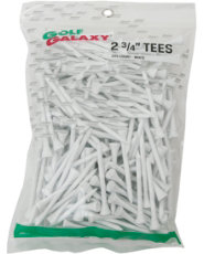 "Golf Galaxy 2¾"" White Golf Tees - 225 Count"
