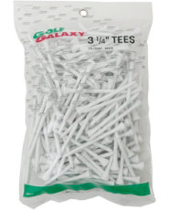 "Golf Galaxy 3¼"" White Golf Tees - 175 Count"
