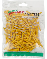 Golf Galaxy 1¼ Par 3 Yellow Golf Tees - 75 Count