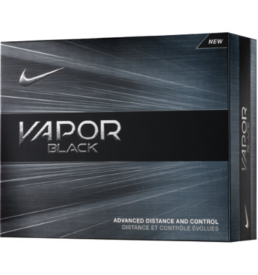 Nike Vapor Black Golf Balls - 12 pack