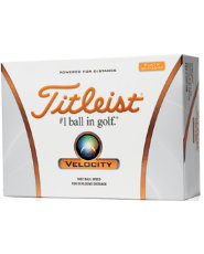 Titleist Velocity Double Numbers Golf Balls - 12 pack
