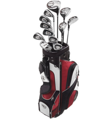 Walter Hagen Men's XLR Complete Set (Steel Irons)
