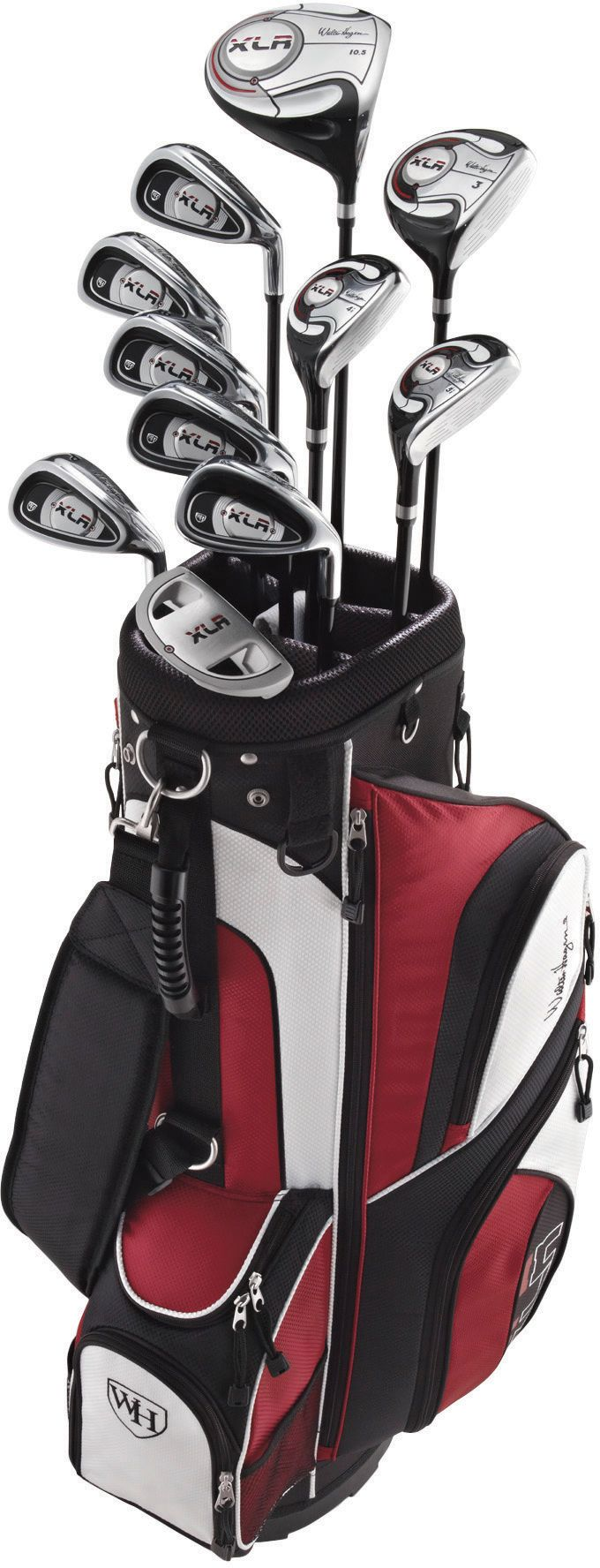 Walter Hagen Men's XLR Complete Set (Graphite Irons)