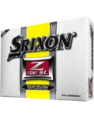 Srixon Z-STAR SL Yellow Golf Balls - 12 pack