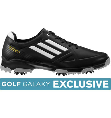 adidas Men's adizero 6-Spike Golf Shoe - Black/White/Grey