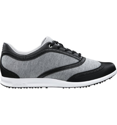 adidas Women's adicross Classic Golf Shoe - Medium Grey Heather/Black