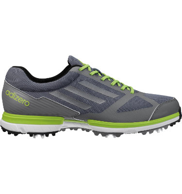 adidas Men's adizero Sport Golf Shoe - Lead/Silver/Slime