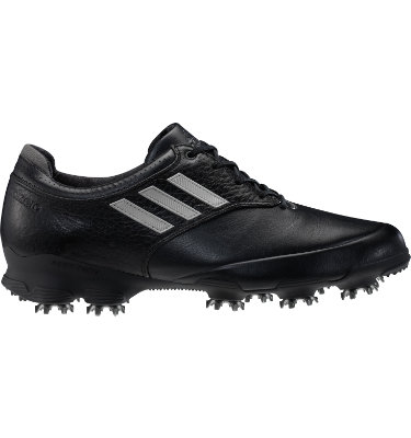 adidas Men's adizero Tour Golf Shoe - Black/White