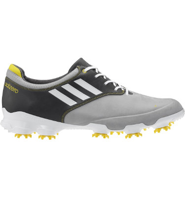 adidas Men's adizero Tour Golf Shoe - Grey/White