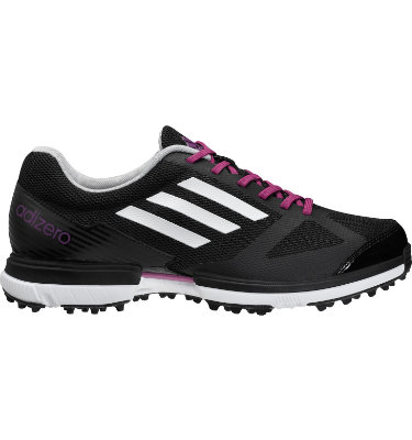 adidas Women's adizero Sport Golf Shoe - Black/Purple