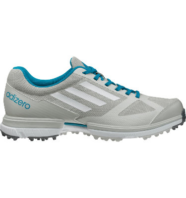 adidas Women's adizero Sport Golf Shoe - Grey/Blue