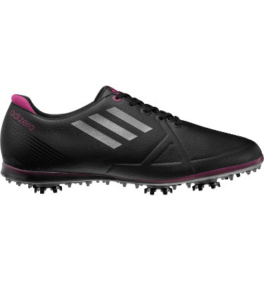 adidas Women's adizero Tour Golf Shoe - Black/Purple