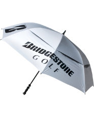 "Bridgestone 68"" Arc Double Canopy Umbrella - White"