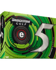 Bridgestone e5 Distance and Control Golf Balls - 12 pack (Personalized)