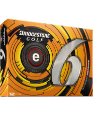 Bridgestone e6 Straight Distance Golf Balls - 12 pack (Personalized)