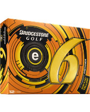 Bridgestone e6 Straight Distance Yellow Golf Balls - 12 pack (Personalized)
