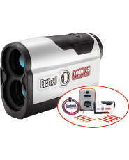 Bushnell Golf Tour v3 Slope Patriot Pack Laser Rangefinder