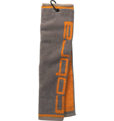 Cobra Tri-Fold Club Towel - Gray